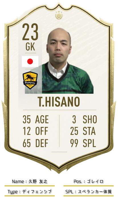 23 GK HISANO